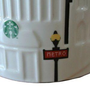 Paris haul - NEW Paris city relief collection mug